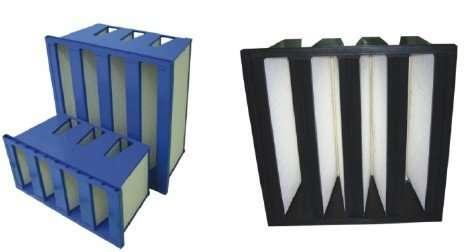 V-Type Mini-pleat Medium Air Filter