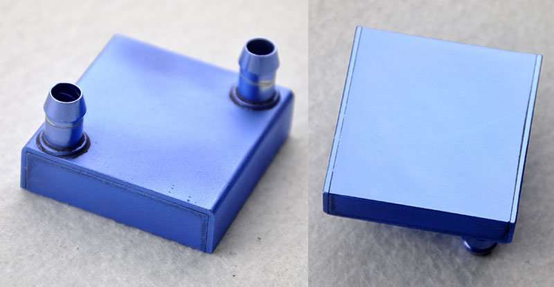 Water Cooling Block 465x46x12mm
