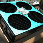 Water Cooling Radiator for 4 fans