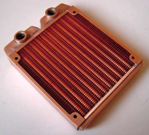 Water Cooling Radiator Copper