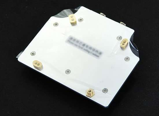 All-covered Water Cooling Block for VGA