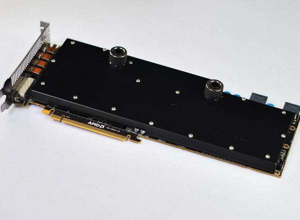 Water Cooling Block for VGA