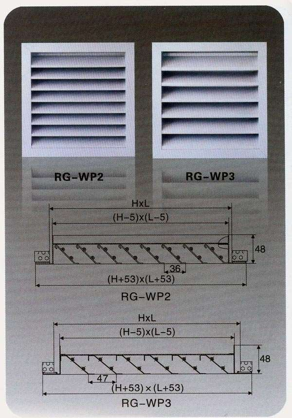 Waterproof Air Grille