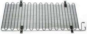 Wire on tube condenser