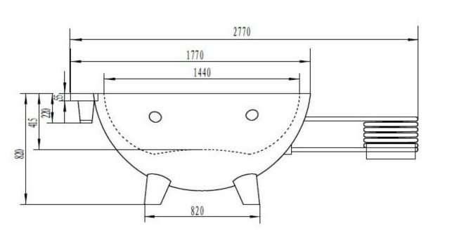 Wood-Fired Hot Tub