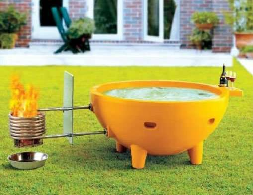 Wood fired hot tub dutchtub manufacturer supplier china for Vasca tartarughe da esterno