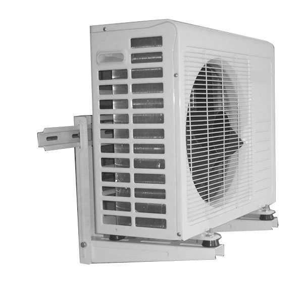 air conditioner bracket with sliding bar (24)