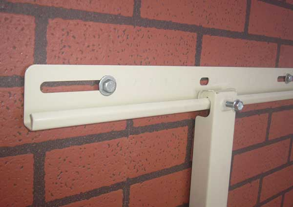 air conditioner bracket with sliding bar (28)