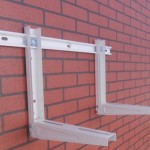 air conditioner bracket with sliding bar (47)
