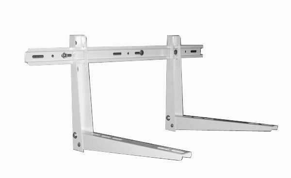 air conditioner bracket with sliding bar