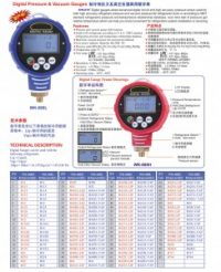 digital pressure & vacuum gauges