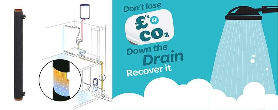 drenar agua de la unidad de recuperación de calor ahorrar dinero