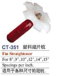 fin straightener