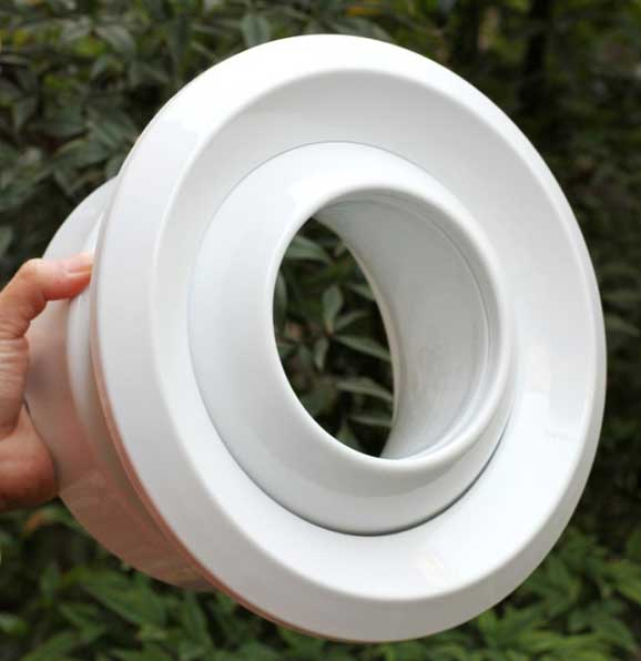high capacity diffuser with jet-type airflow