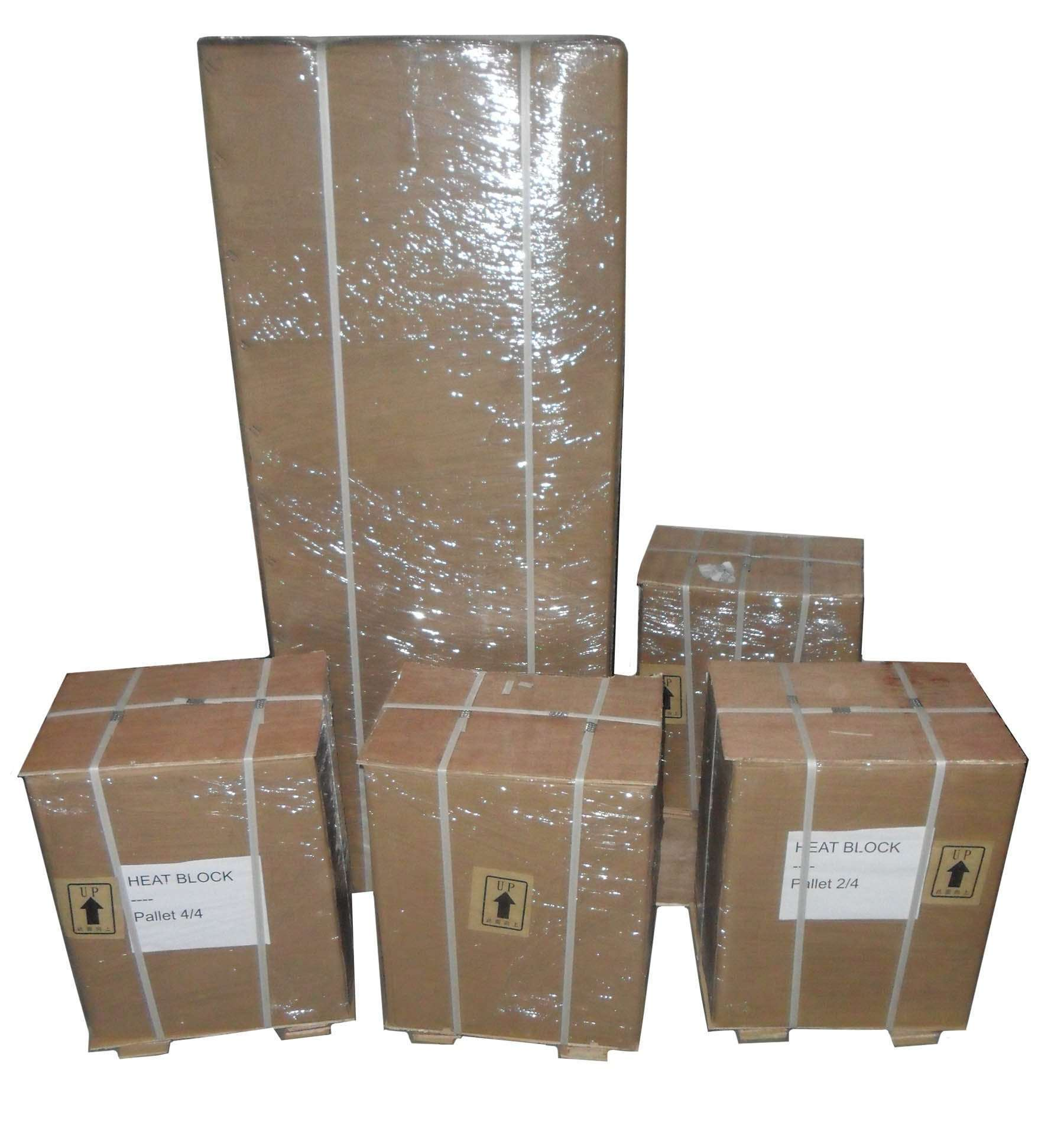 Thermodynamic heat block packing