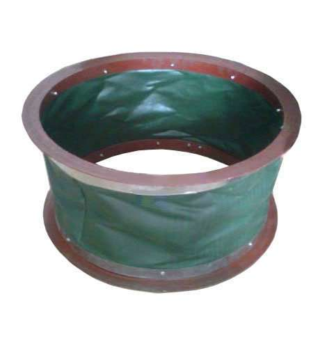 Air Duct Flexible Connector with round flange,anti-fire,fire resistant