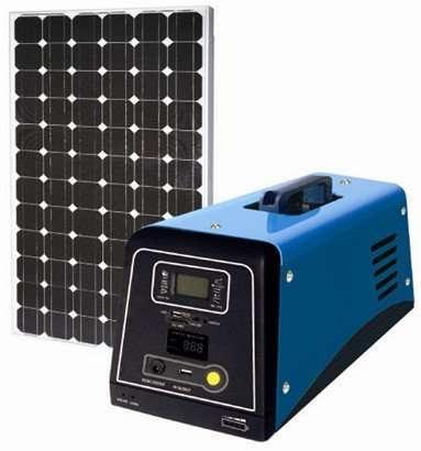 80W Solar PV System