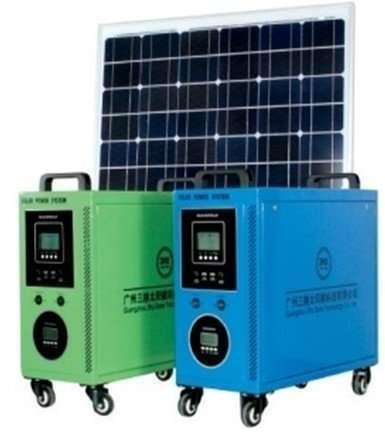 120W solar PV System