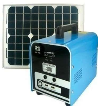 100W Solar PV System