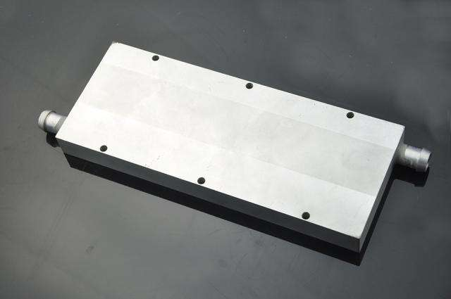 flat surface with outlet and inlet