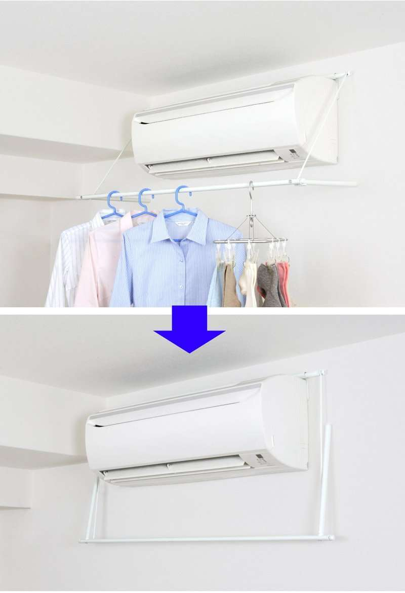 Model A-A/C Clothes Dryer Rack