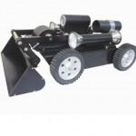 Air Duct Sampling and Shoveling Robot
