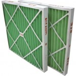 Carton Frame Pre Pleat Furnace Filter