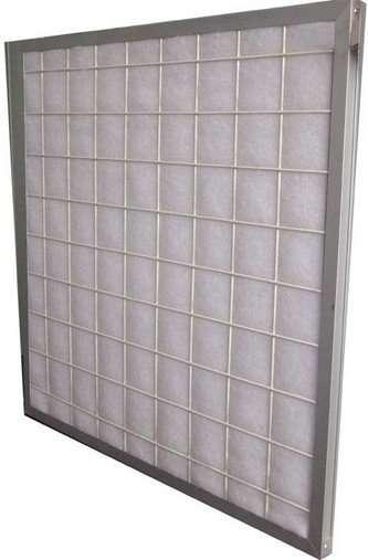 Flat Panel Spun Fiberglass Furnace Filter