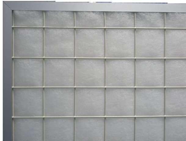Flat Panel Spun Fiberglass Furnace Filter 2