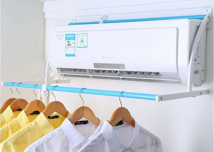 model-C AC Clothes Dryer Rack