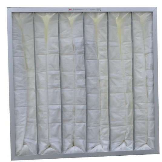 Fiber Pocket Furnace Filter
