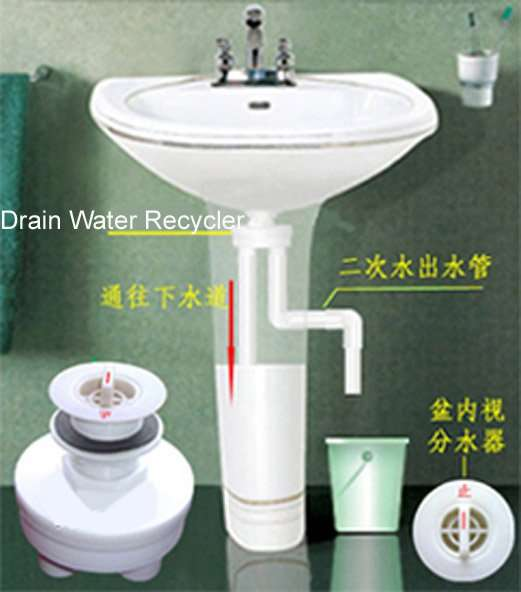 Drain Water Recycler