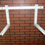 Three Bolt Air Conditioner Bracket With Sliding Bar Model 101BS03