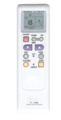 Air conditioner remote controller KT-208M