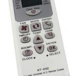 Air conditioner remote controller KT-E02