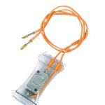Auto defrost freeze removal thermostat