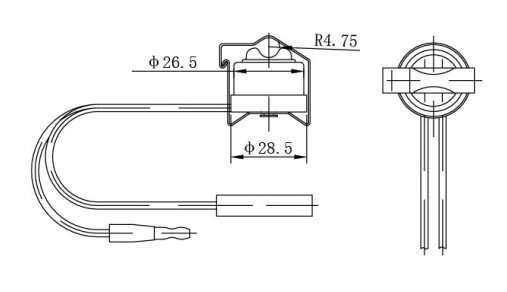 bimetallic switch refrigeration defrost termination thermostat manufacturer