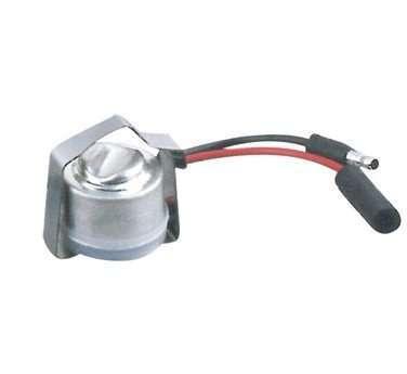 Bimetallic switch refrigeration defrost termination thermostat
