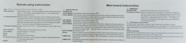 Universal Air conditioner control system QD-U08C 1