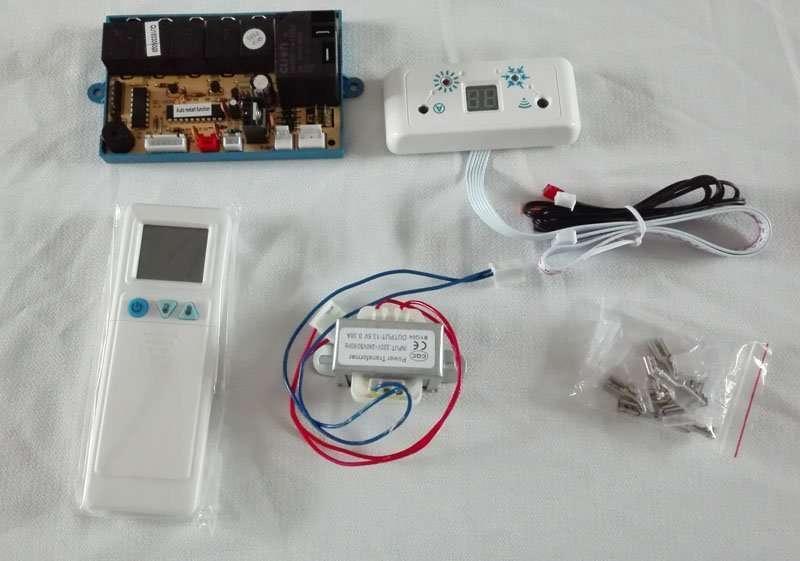 Air conditioner pc board control system QD-U08C