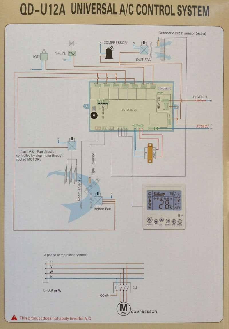 QD-U12A-wiring