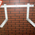 One-Bolt Folded Air Conditioner Bracket With Sliding Bar Model 101BF