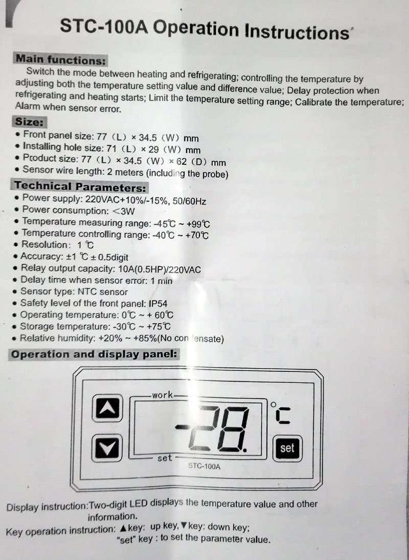 STC-100A Instruction-1