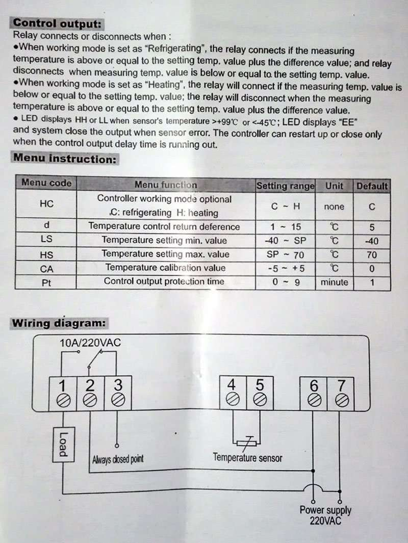 STC 100A Manual 3 refrigerating & heating thermostat stc 100a manufacturer supplier stc 1000 wiring diagram at soozxer.org