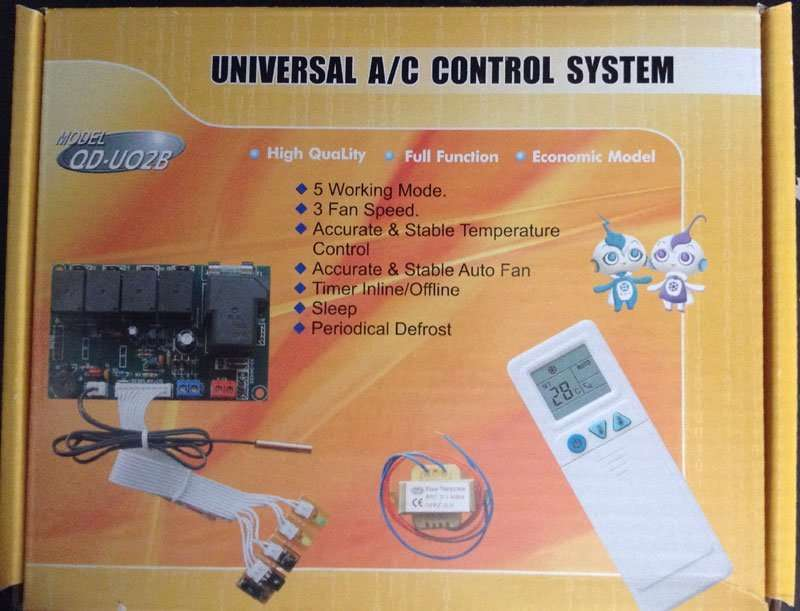 U02B-ac-control-system single packing