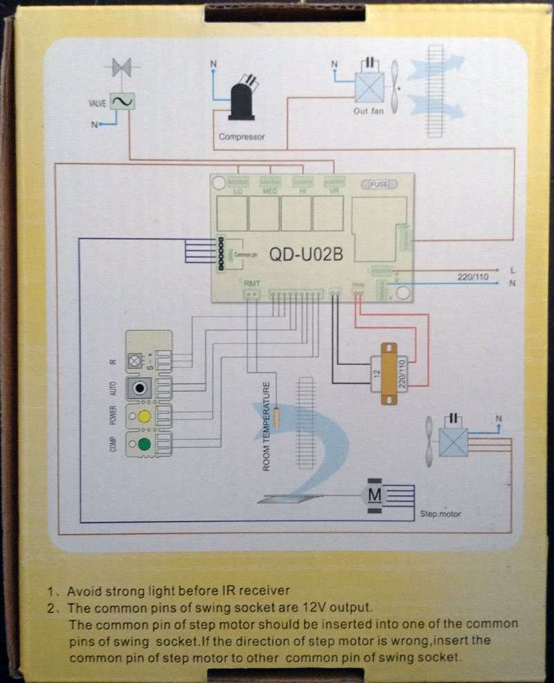 Universal Air Conditioner Control System Qd U02b Manufacturer Temp Heat Pump Wiring Diagram Buying Guide To