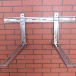 Stainless Steel Air Conditioner Bracket with Sliding Bar Model SS-02