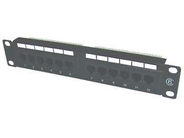 10inch UTP cat.5e 12portspatch panel