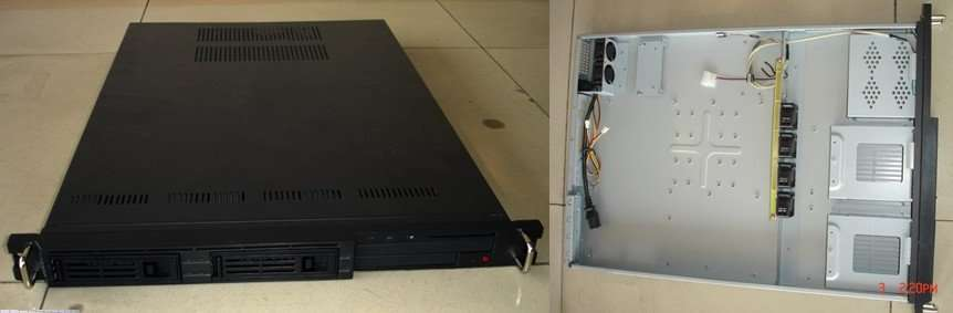 1u rackmount chassis 625A