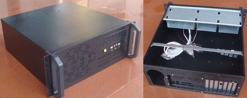 4U Rackmount Chassis- Model 4UH450